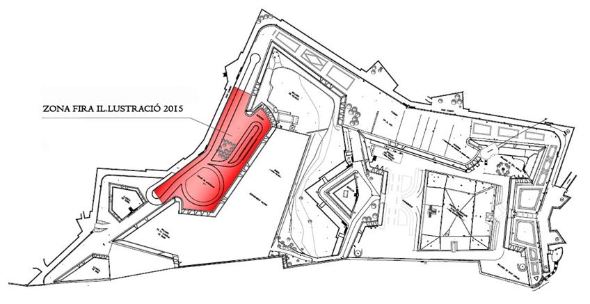 zona feria ilustracion
